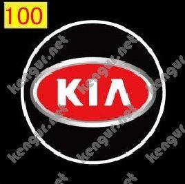 Фото Лазерная подсветка дверей с логотипом Kia (№100)