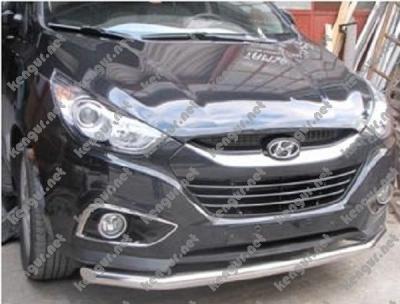 Фото Защитная дуга по бамперу Hyundai IX35 одинарная