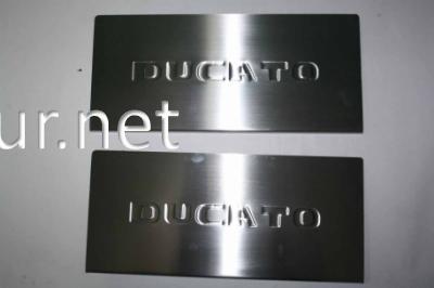 Фото Накладки на пороги (Carmos) Fiat Ducato 2006-…
