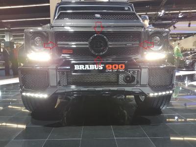 Фото Карбоновая решетка радиатора Mercedes-Benz W463