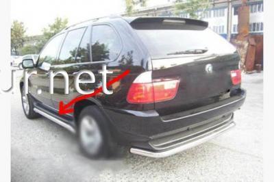 Фото Пороги боковые (трубы B1) BMW X5 E53 1999-2006