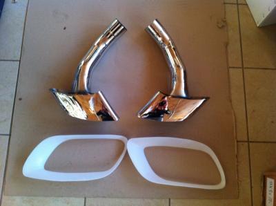 Фото BMW X6 Насадка на глушник Jinggui 18307535435 (права), 18307535436 (ліва)