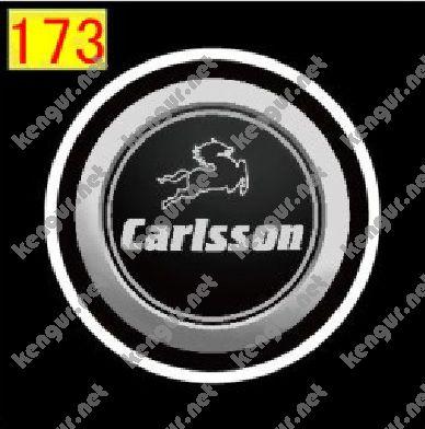 Фото Лазерная подсветка дверей с логотипом Carlsson (№173)