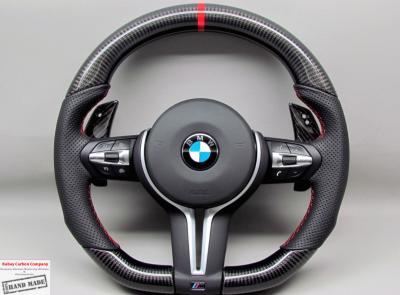 Фото Руль карбоновый на BMW M3