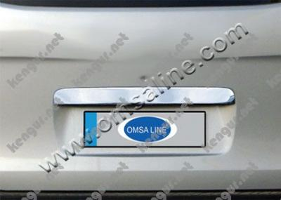 Фото Хром накладка над номером на крышку багажника (нерж.) #498442