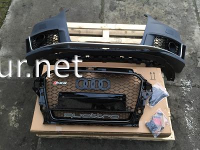Фото Передний бампер Audi A3 стиль RS3 2012-2015 хэтчбек