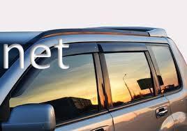 Фото Дефлекторы окон - ветровики (Сobra) Hyundai  Santa Fe 2012-…