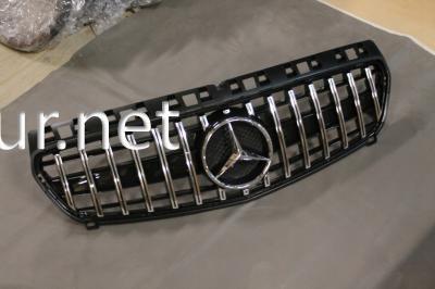 Фото Решетка радиатора GT (black/chrome) Mercedes W176 2012-2018