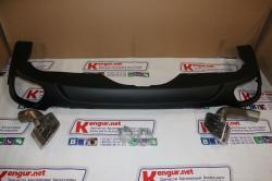 Диффузор BMW X5 F15 с насадками