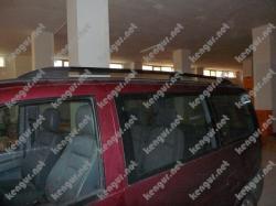 Рейлинги черные (пластиковые концевики) Mercedes Vito #523171