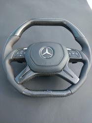 Руль карбоновый Brabus Mercedes Benz ML-CLass W166