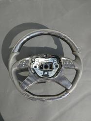 Руль карбоновый Mercedes Benz ML-CLass W166 AMG