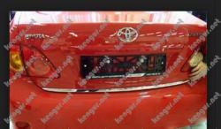 Хром накладка нижней кромки багажника Toyota Corolla