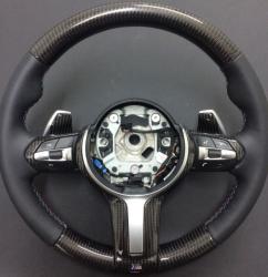 Руль карбоновый на BMW F30/F31