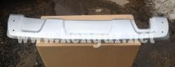 Накладка, защита заднего бампера (нижняя) Duster Duster (Белая) 850701407R