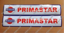 Наклейки на пороги Nissan Primastar (тип 1)