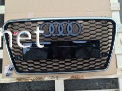 Решетка радиатора Audi A7 стиль RS7 Chrome (2011-2015)