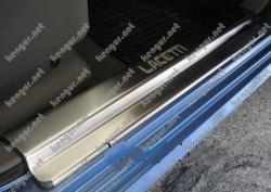 Накладки из нержавеющей стали CHEVROLET LACETTI 5D