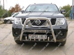 Защитная дуга переднего бампера Nissan Pathfinder