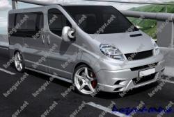 Передний бампер Opel Vivaro #300222