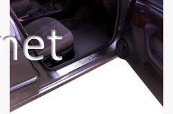 Хром накладки на пороги (Carmos) BMW 5 E34 1988-1995