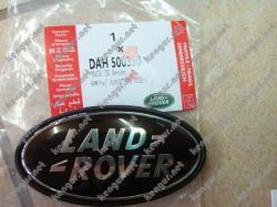 Эмблема Land Rover в решетку (черная) на Land Rover Discovery 3 (2003-...)