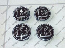 Колпачки в диски Brabus (черные)