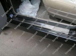 Накладки на пороги из нержавеющей стали HONDA CR-V III