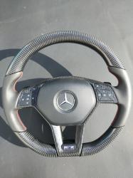 Руль карбоновый Mercedes Benz Brabus W218 CLS Class