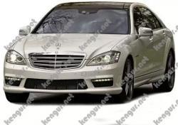Mercedes Benz w221 рестайлинг, комплект обвеса