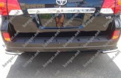 Докладка заднего бампера Toyota Land Cruiser 200 (Модель 2013 г.)