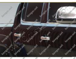 Хром накладки на дверные ручки Volkswagen Amarok (нерж.) 4 дверн. 6455954