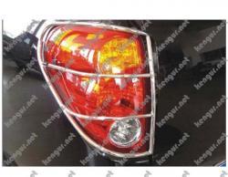Защита задних фонарей Mitsubishi L200