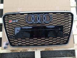 Решетка радиатора Audi A7 стиль RS7 all black (2011-2015)   4G8853651 T94