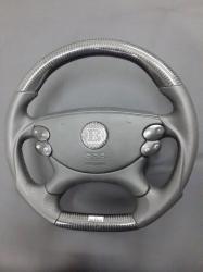 Руль карбоновый Brabus W211 E Class