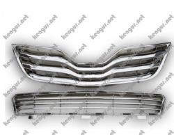 Решетка радиатора и бампера Toyota Camry (2010...)