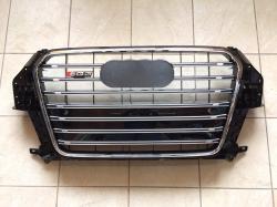 Решетка радиатора SQ3 для Audi Q3 (2011-...) чёрная