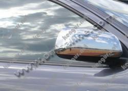 Хром накладки на зеркала Toyota Hilux (нерж.) 2 шт.