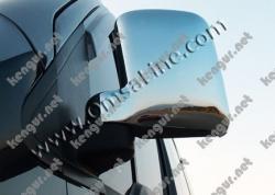 Накладки на зеркала (вертикальные) Ford Connect 2002-2006