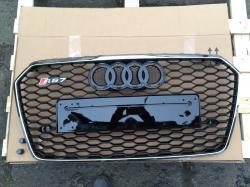 Решетка радиатора Audi A7 стиль RS7 (2015-...)