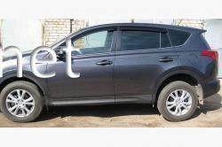 Дефлекторы окон - ветровики (SIM) Toyota RAV-4 2013-…