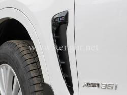 Жабры в крылья BMW X5 F15 M Performance (черные) 51712354930 - 51712354931