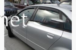 Дефлекторы окон - ветровики (Cobra) Audi A6 2004-2011 (седан)