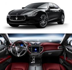 Салон карбоновый на Maserati Ghibli 2013+