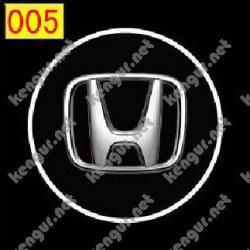 Лазерная подсветка дверей с логотипом Honda (№005)