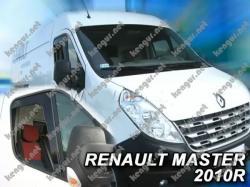 Дефлекторы дверей, ветровики Renault Master 2010-... (Heko)
