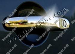Накладки на дверные ручки Volkswagen Golf V (нерж.) 2 дверн (PLUS)