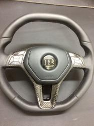 Руль c карбоновой вставкой Mercedes Benz W218 CLS Class