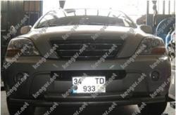 Защитная дуга по бамперу Kia Sorentо двойная #671579