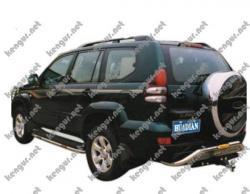 Защитная дуга заднего бампера Toyota Prado120 #511595